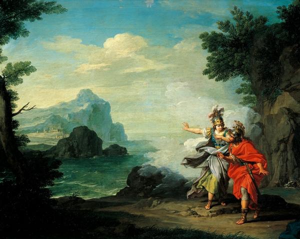 the great athena manipulation of odysseus essay